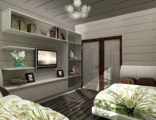 Дизайн комнаты пенсионерки